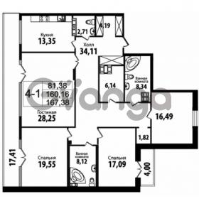Продается квартира 4-ком 160 м² Кирочная улица 57, метро Чернышевская