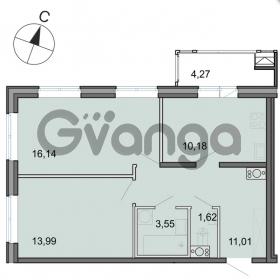 Продается квартира 2-ком 56 м² Новоорловская улица 101, метро Озерки