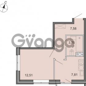 Продается квартира 1-ком 31 м² Новоорловская улица 101, метро Озерки