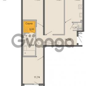 Продается квартира 3-ком 74 м² Новоорловская улица 101, метро Озерки