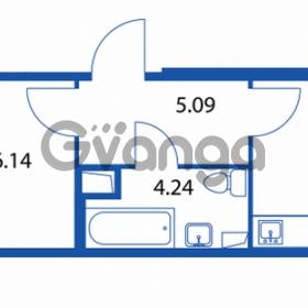 Продается квартира 1-ком 35 м² Петровский бульвар 1, метро Девяткино