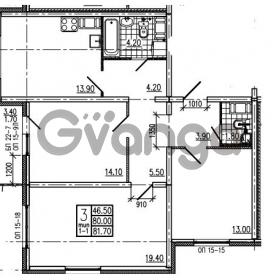 Продается квартира 3-ком 81.7 м² Маршала Блюхера 12АЭ, метро Лесная