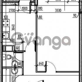 Продается квартира 1-ком 42.6 м² Первомайская улица 17к 1, метро Рыбацкое