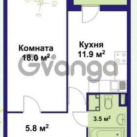 Продается квартира 1-ком 40 м² улица Крыленко 1, метро Улица Дыбенко