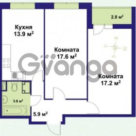 Продается квартира 2-ком 61 м² улица Крыленко 1, метро Улица Дыбенко