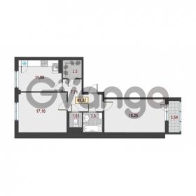 Продается квартира 2-ком 65.27 м² Европейский проспект 1, метро Улица Дыбенко