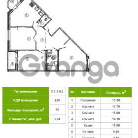 Продается квартира 3-ком 90 м² Русановская улица 17к 1, метро Пролетарская