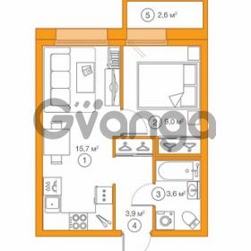 Продается квартира 1-ком 32 м² Комендантский проспект 58к 1, метро Комендантский проспект