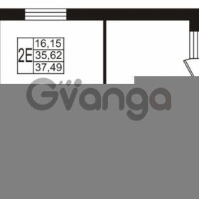 Продается квартира 1-ком 35.62 м² Охтинская аллея 1, метро Девяткино