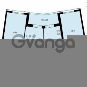 Продается квартира 3-ком 93.36 м² улица Жукова 12, метро Площадь Ленина