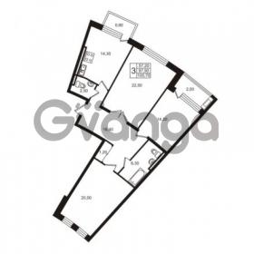 Продается квартира 3-ком 100.7 м² Приморский проспект 44, метро Старая деревня