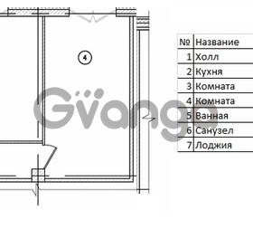 Продается квартира 2-ком 63 м² Кременчугская улица 9к 2, метро Площадь Восстания