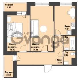 Продается квартира 2-ком 60.02 м² Советский проспект 24, метро Рыбацкое