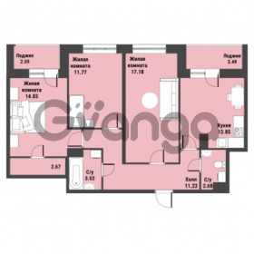 Продается квартира 3-ком 78.96 м² Советский проспект 24, метро Рыбацкое