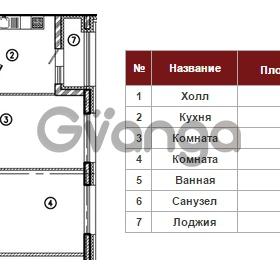 Продается квартира 2-ком 68 м² Полтавский проезд 2, метро Площадь Восстания
