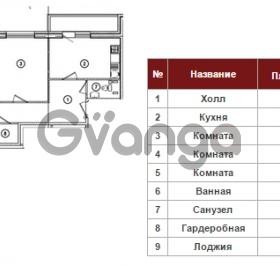 Продается квартира 3-ком 88 м² Полтавский проезд 2, метро Площадь Восстания
