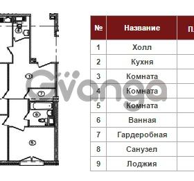 Продается квартира 3-ком 82 м² Полтавский проезд 2, метро Площадь Восстания