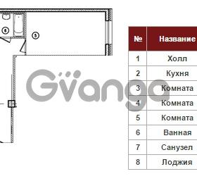 Продается квартира 3-ком 96 м² Полтавский проезд 2, метро Площадь Восстания