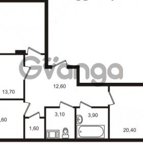 Продается квартира 3-ком 88.4 м² Московский проспект 65, метро Фрунзенская