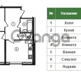 Продается квартира 2-ком 62 м² Уральская 4, метро Василеостровская