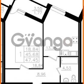 Продается квартира 1-ком 45.68 м² Почтовая улица 8, метро Ладожская