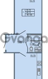Продается квартира 1-ком 41 м² Школьная 6, метро Проспект Просвещения