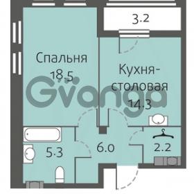Продается квартира 1-ком 46 м² улица Кременчугская 13к А, метро Площадь Восстания