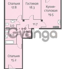 Продается квартира 3-ком 94 м² улица Кременчугская 13к А, метро Площадь Восстания