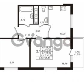 Продается квартира 2-ком 49.89 м² проспект Энергетиков 9, метро Ладожская