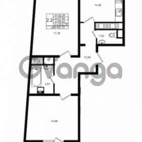 Продается квартира 2-ком 59.43 м² проспект Энергетиков 9, метро Ладожская