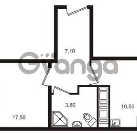 Продается квартира 1-ком 38.9 м² проспект Строителей 7, метро Улица Дыбенко