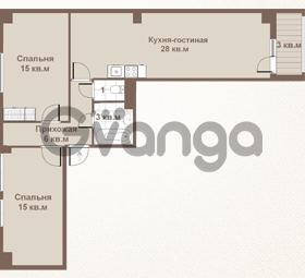 Продается квартира 2-ком 72 м² площадь Европы 1, метро Приморская