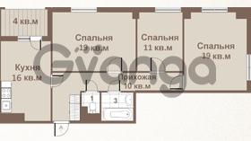 Продается квартира 3-ком 80 м² площадь Европы 1, метро Приморская