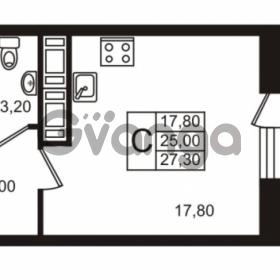 Продается квартира 1-ком 27 м² Московский проспект 65, метро Фрунзенская