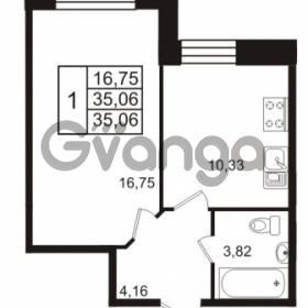Продается квартира 1-ком 35 м² Европейский проспект 14, метро Улица Дыбенко