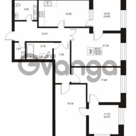 Продается квартира 3-ком 104.9 м² Ушаковская набережная 3, метро Черная речка
