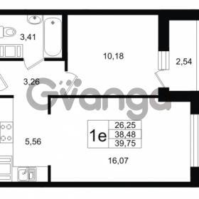 Продается квартира 2-ком 38.48 м² Шоссейная 1, метро Ладожская