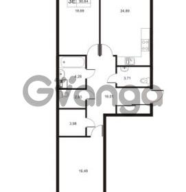 Продается квартира 2-ком 90.64 м² Муринская дорога 7, метро Гражданский проспект