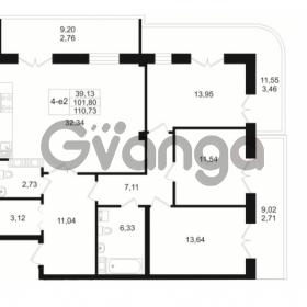 Продается квартира 3-ком 101.8 м² Малый пр. В.О. 64, метро Василеостровская