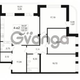 Продается квартира 3-ком 117.64 м² Малый пр. В.О. 64, метро Василеостровская