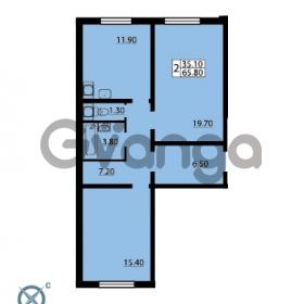 Продается квартира 2-ком 65.8 м² Южное шоссе 110, метро Международная