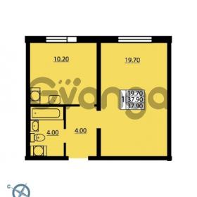 Продается квартира 1-ком 37.9 м² Южное шоссе 114, метро Международная