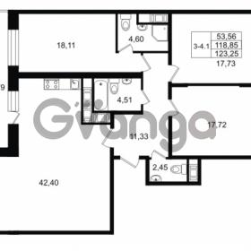 Продается квартира 3-ком 118.85 м² улица Костюшко 19, метро Московская