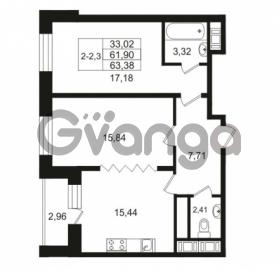 Продается квартира 2-ком 61.9 м² улица Костюшко 19, метро Московская
