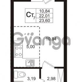 Продается квартира 1-ком 22.01 м² Охтинская аллея 4, метро Девяткино