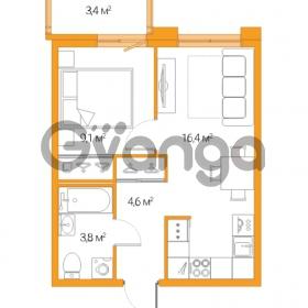 Продается квартира 2-ком 33.9 м² Дальневосточный проспект 12, метро Проспект Большевиков