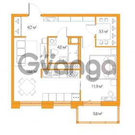 Продается квартира 2-ком 44.6 м² Дальневосточный проспект 12, метро Проспект Большевиков