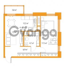 Продается квартира 2-ком 47.4 м² Дальневосточный проспект 12, метро Проспект Большевиков
