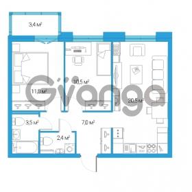 Продается квартира 3-ком 55.7 м² Дальневосточный проспект 12, метро Проспект Большевиков