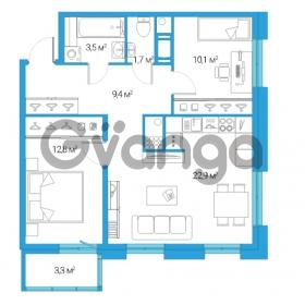 Продается квартира 3-ком 60.4 м² Дальневосточный проспект 12, метро Проспект Большевиков